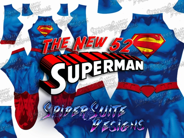Superman New 52 2017 Pattern