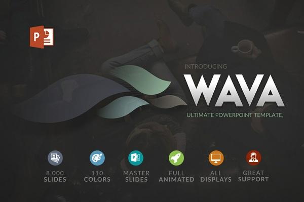 Wava | Powerpoint template