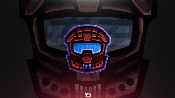 [Premade] Soldier Mascot Logo