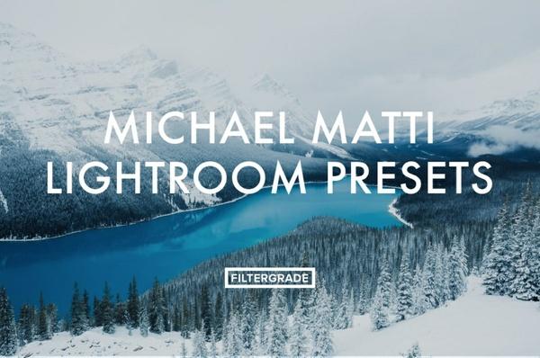 Filtergrade Michael Matti Lightroom Presets