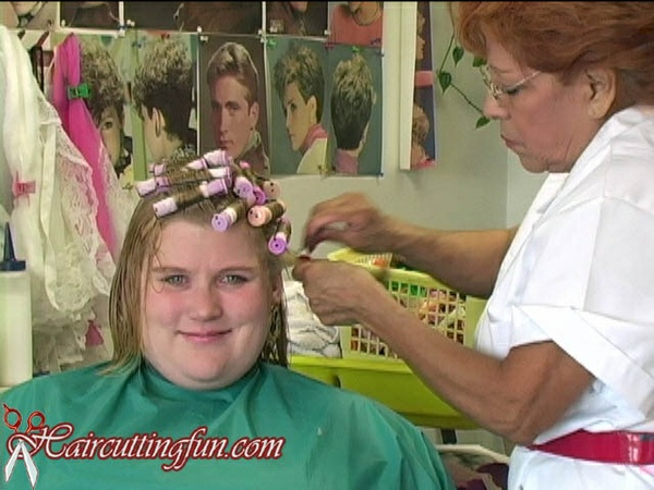 Angie's Real Uniperm Perm in Salon - Digital Video on Deman VOD