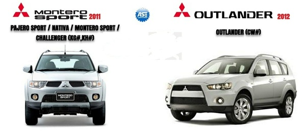 Mitsubishi Outlander 2012 & Montero Sport 2011 Factry Service Manual
