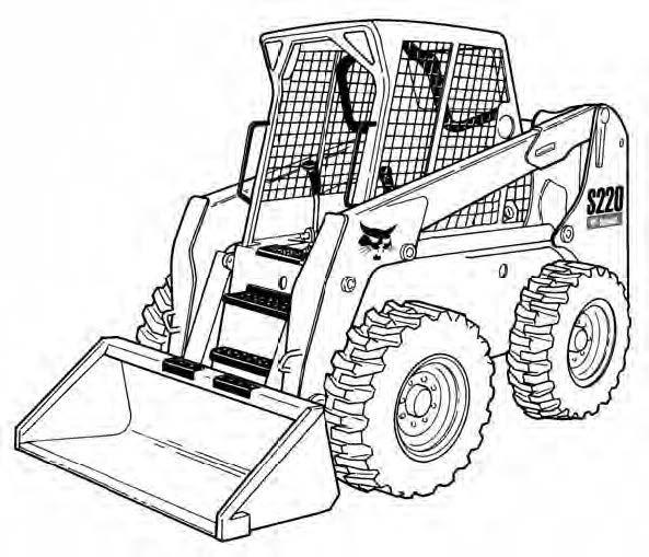 Bobcat S220 Skid-Steer Loader Service Repair Manual Download(S/N 526211001 & Above ...)