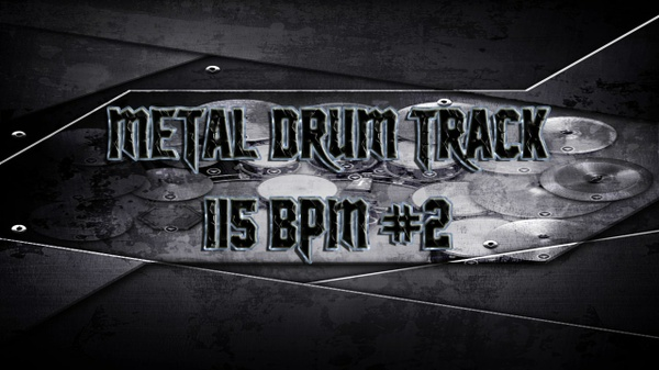 Metal Drum Track 115 BPM #2 - Preset 2.0