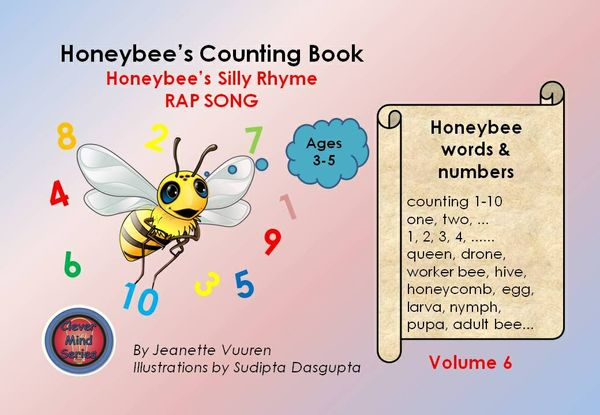 SONG :HONEYBEE'S SILLY RHYME RAP SONG - an excerpt from HONEYBEE'S COUNTING BOOK Vol 6