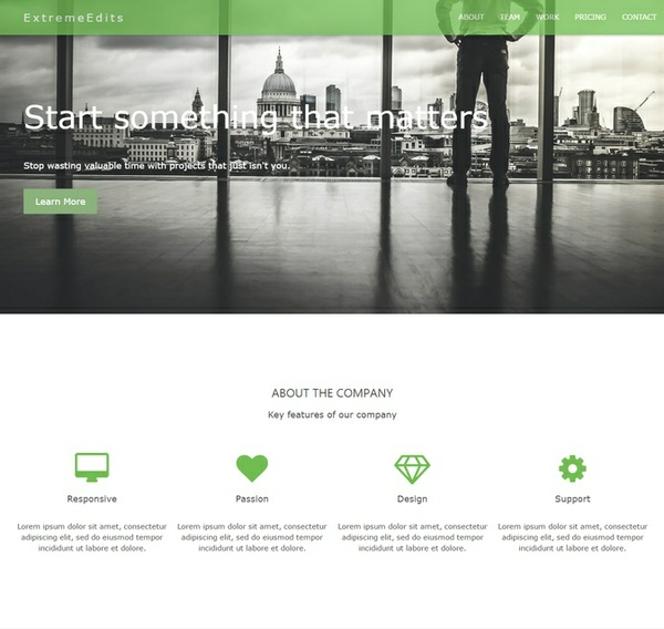CodoStartup - A Weebly Theme for Startups