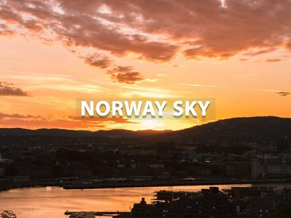 """""""Norway Sky"""" - Lightroom Preset"""