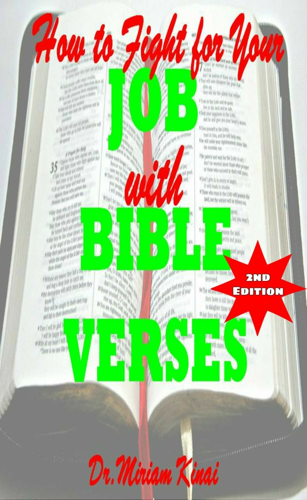 How to Fight for your Job with Bible Verses 2nd Edition