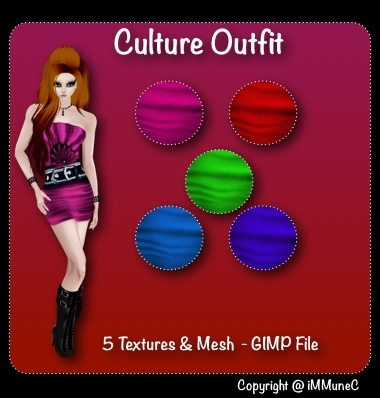 5 Culture Outfits & Mesh