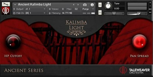 Ancient Kalimba Light