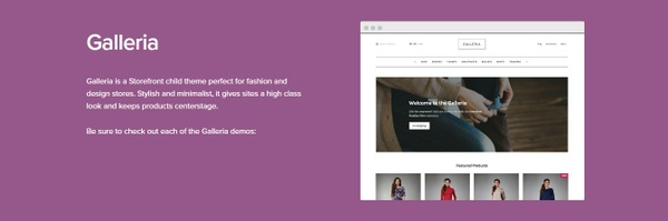 WooCommerce Galleria Storefront Theme 2.2.11 Wordpress