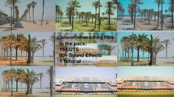 CameraFrames Editing Pack