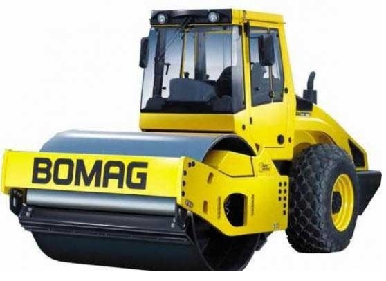 BOMAG BW213D-4, BW211D-4, BW211PD-4 SINGLE DRUM ROLLER MAINTENANCE AND OPERATING MANUAL