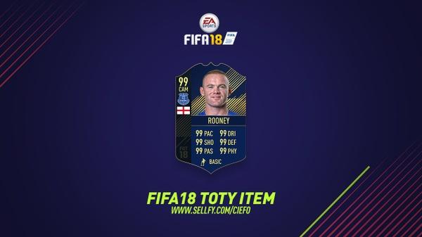 FIFA 18 TOTY ITEM