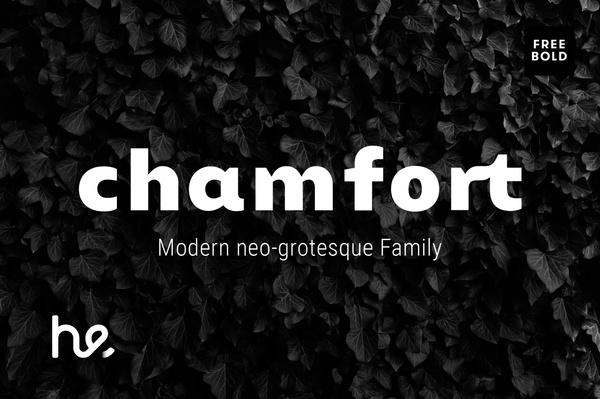 Chamfort Bold - Free Weight
