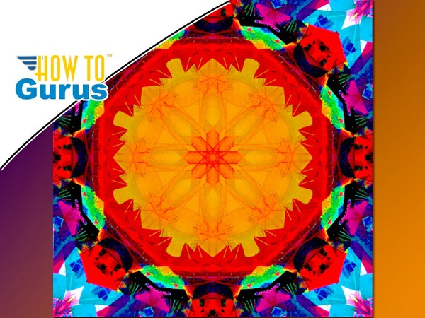 Photoshop Kaleidoscope Tutorial: How to Make a Kaleidoscope Effect in CC 2017 CS6 CS5