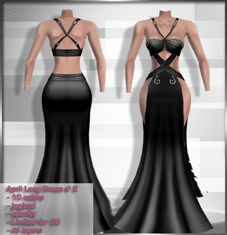 2014 Apr Long Dress # 2