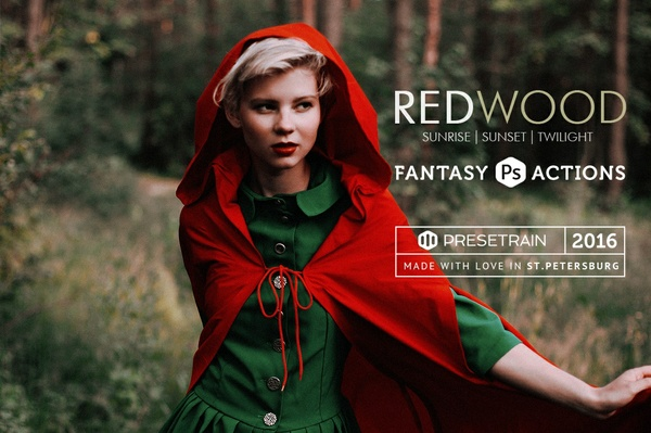 Redwood Fantasy Photoshop Actions