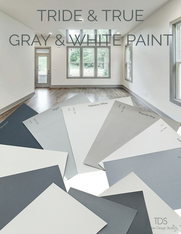 TDS- Tried & True Gray & White Paint