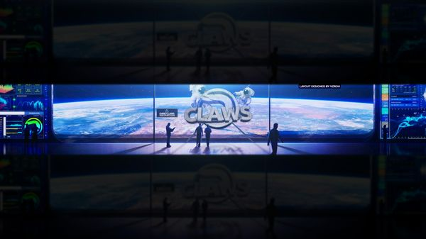 Dare Claws YouTube Banner (PSD)