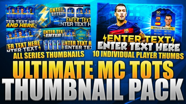FIFA 16 ULTIMATE MC TOTS THUMBNAIL PACK