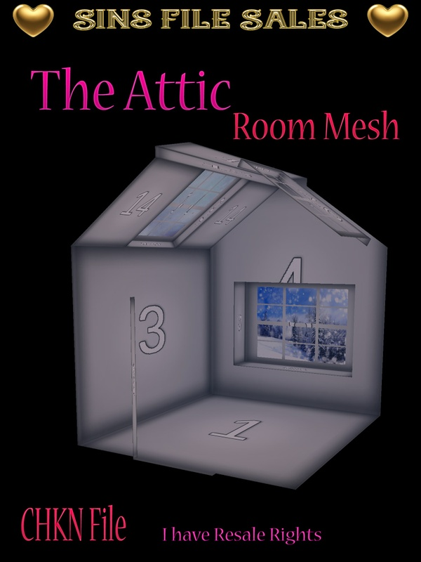 The Attic Room Mesh