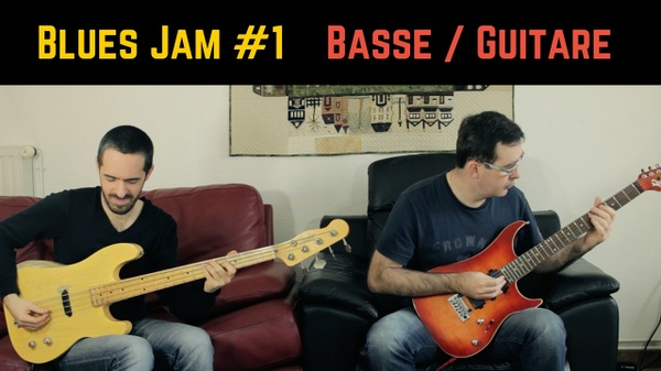 Blues Jam #1 - Bass Tab + GPX