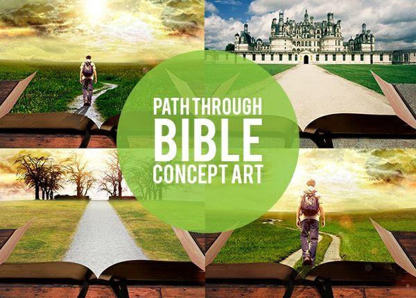 Path Through Bible Concept Art