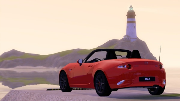 U-I 2016 Mazda MX-5 For The Sims 3
