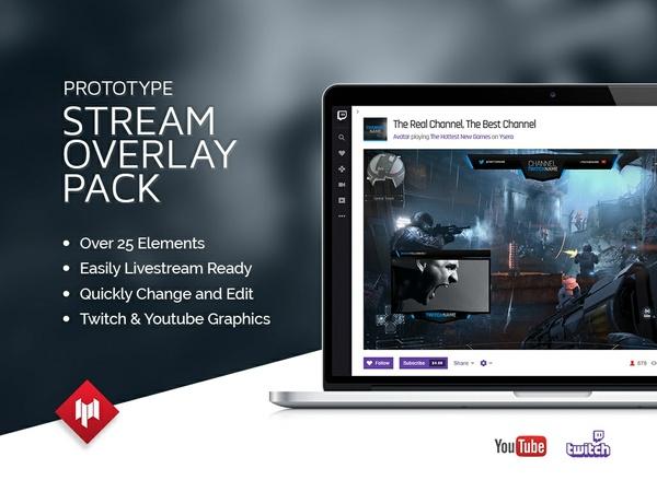 Livestream Overlay Pack   Prototype