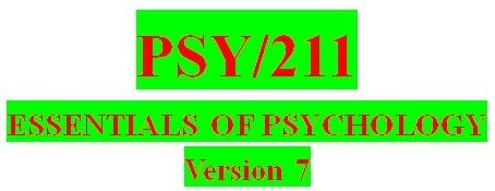 PSY 211 Week 1 A Research Plan