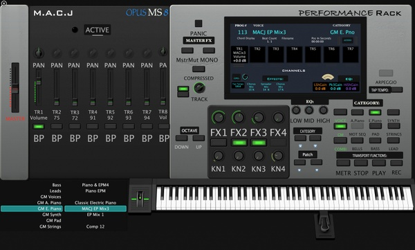 OPUS MS8 Voice Set (For Logic Pro X)