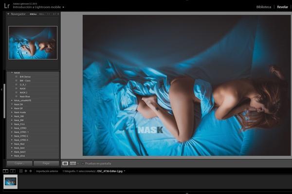 Blue preset