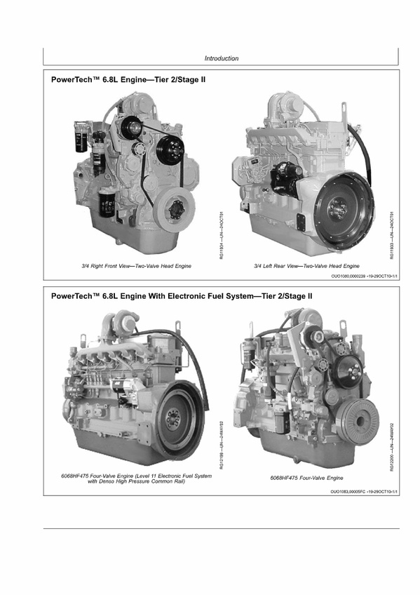 PDF DOWNLOAD John Deere 6068TFM75-6068TFM76 Marine Engines Repair Service Technical Manual PDF