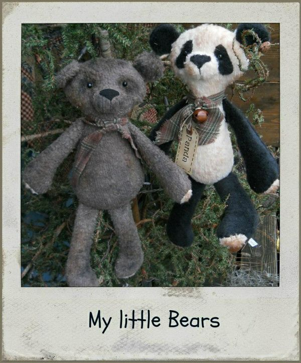 #472 My Little Bears e pattern