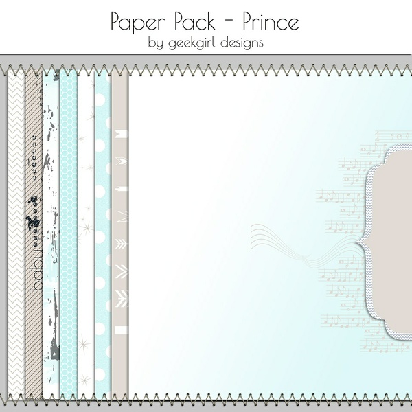 Prince Paper Pack by geekgirl designs