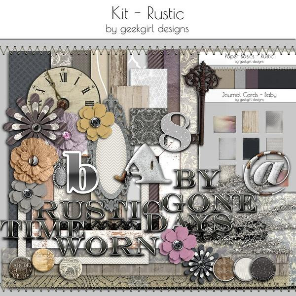 Rustic Kit by geekgirl designs