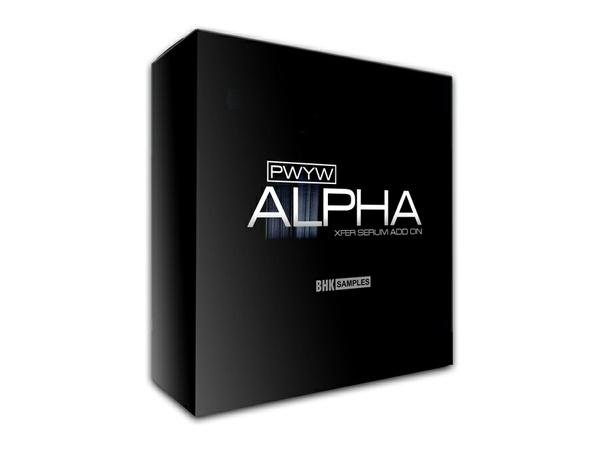 BHK Samples ALPHA Drum'n'Bass Xfer SERUM Add On