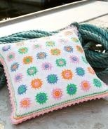 White Square Cushion Cover