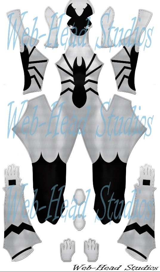 White Symbiote (Custom for Morgan Gretzky)