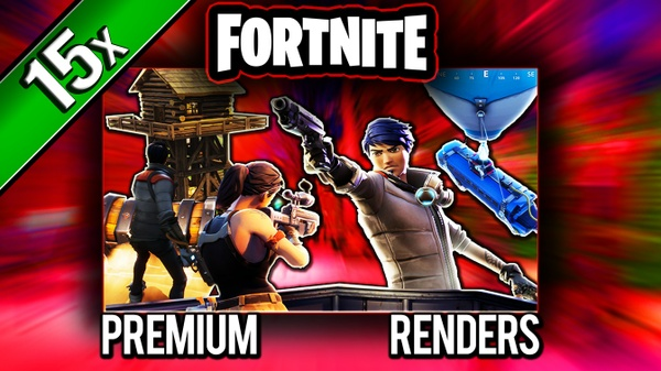 FORTNiTE Thumbnail Template (2) - PSD