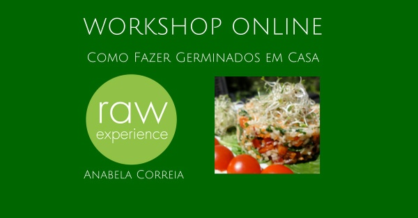 Workshop Online Como Fazer Germinados Em Casa