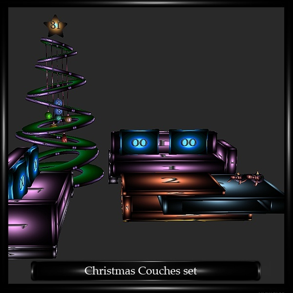 Christmas Couches Set