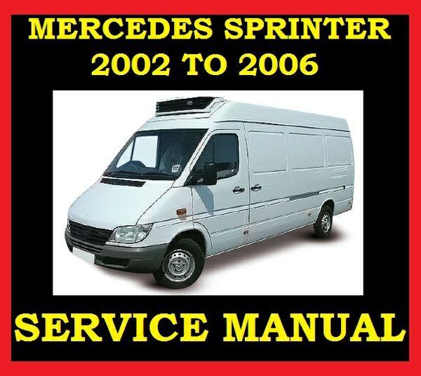 Mercedes sprinter workshop manual download cheapgget for Mercedes benz workshop manuals