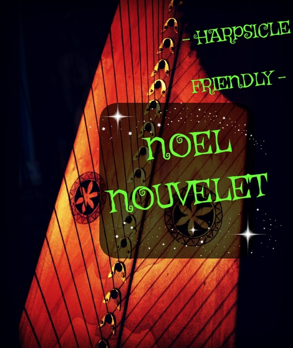 297-NOËL NOUVELET PACK - HARPSICLE FRIENDLY -