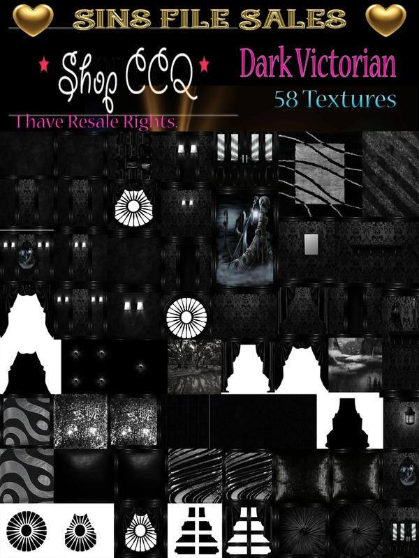 Dark Victorian Texture Pack