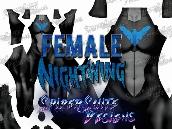 Female Nightwing Young Justice 2017 Pattern