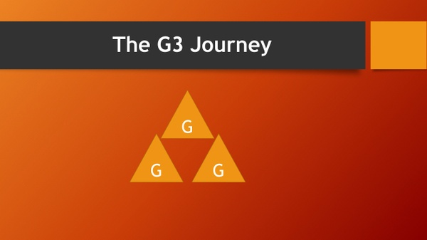 The G3 Journey Module 1- Discovery