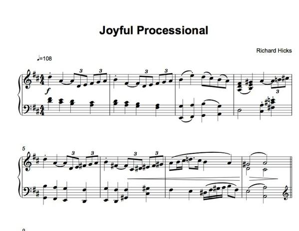 Joyful Procession