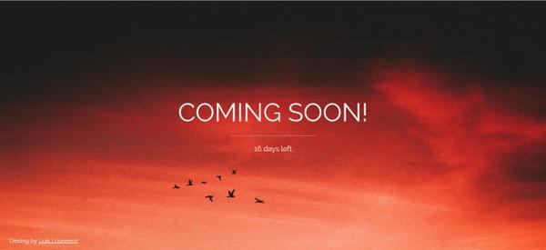Website Coming Soon Template